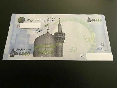 Middle East 500,000 Rials AUNC,(PERSIAN NOTE) ,USA SELLER, LIMITED QUANTITY