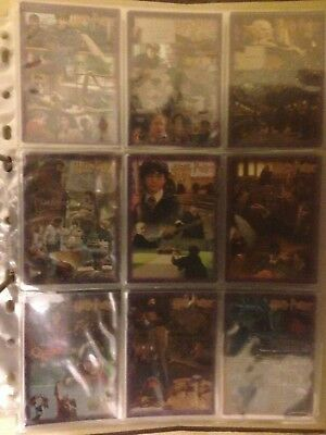 Harry Potter and the Sorcerers Stone puzzle 9 card Foil set R1-9