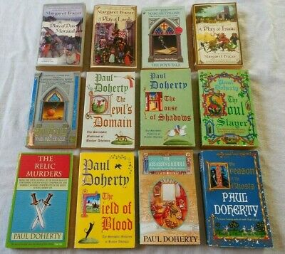 Huge Lot Of 20 Historical Medieval Cozy Mysteries - Frazer, Doherty, Jenks More!