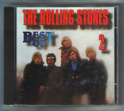 ROLLING STONES -  Best of 2 - RARE UNIQUE HUNGARY CD