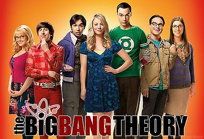 THE BIG BANG THEORY TV SHOW  POSTER WALL ART| SIZES A4 to A0 UK SELLER |E063