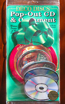 "1993 DECO DISCS Pop-Out CD Ornament: MOTOWN ""Sounds Of The Season"" - NEW!"
