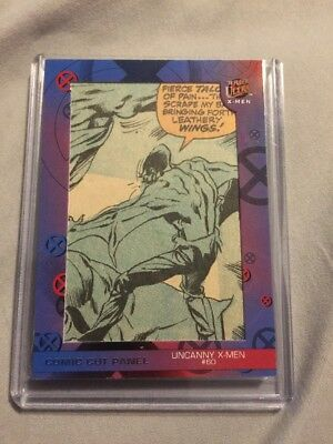 2018 Fleer Ultra X-Men Panel Uncanny 60 1st Sauron Great Scene Nice!!!! 1969