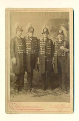 ca. 1880 SHIELD s BROTHERS TEXAS GIANTS CIRCUS SIDESHOW freak by EISENMANN of NY