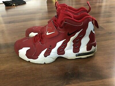 cheap for discount 3f7db c2a32 Nike Air DT Max 96 Deion Sanders Diamond Turf Red Sneakers Mens Size 13  Shoes