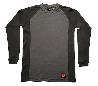 e6a3397b902a INDEPENDENT Mens Long Sleeve Raglan Skate Thrasher Trucks Dark Grey Shirt  Sz.S