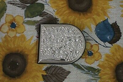 Wonderful Italy LEONARDO Sterling Flowers Women Double Side Mirror Compact