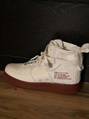 sale retailer 1c3db f0371 Nike Sf Af1 Mid Special Field Air Force 1 Ivory White Mars Stone 917753-100