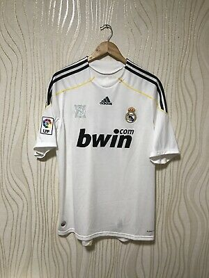 0981896aa77 Real Madrid 2009 2010 Home Football Soccer Shirt Jersey  7 Raul Adidas  E84352