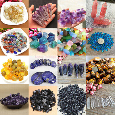 Natural Colorful Quartz Crystal Stone Rock Healing Gemstone Collectables 16Style