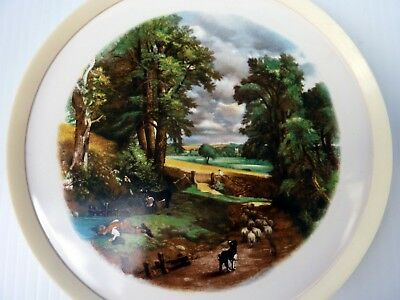 Vintage H&R Johnson Ceramic Tile Round Teapot Stand English Countryside Collecti