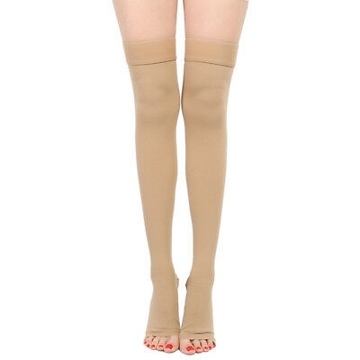 30-40 mmHg Medical Compression Stockings Varicose Travel Flight Socks Class 3