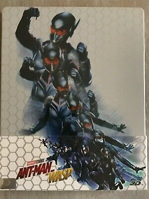 Ant Man and The Wasp (3D + 2D) Blu-ray Steelbook