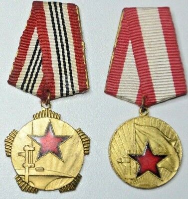 """RARE /""""Good Service in State and Society/"""" Albania 3 Orders Medal"""