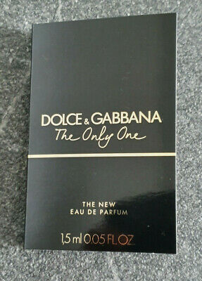 Dolce & Gabbana - The only One The New _ Parfümprobe _ Probe _for women