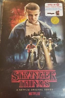 Stranger Things Season 1 Collector's Edition Blu-Ray Dvd Poster Set Sealed! New