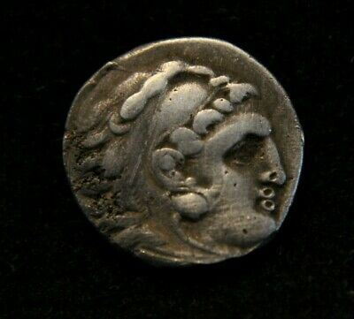 Greek Kings of Macedon. Alexander III 'the Great' 336-323 BC Silver Coin