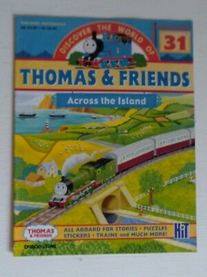 DISCOVER THE WORLD OF THOMAS AND FRIENDS No.31 -ACROSS THE ISLAND