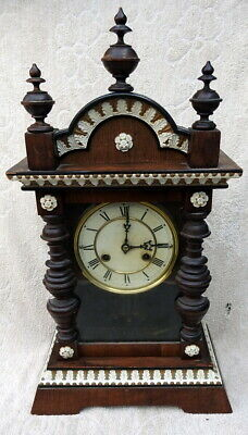 Early 1900's Junghans Chiming Wall Clock. Requires attention