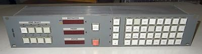 Probel / snel 8 level 6276 XY control router matrix panel