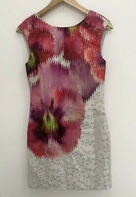 533a11f74 TED BAKER  EXPRESSIVE Pansy  tunic dress size 4 UK 14 brand new with ...