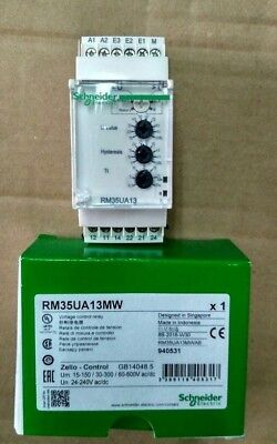 RM35UA13MW Voltage Monitoring Relay with DPDT Contacts, 24-240 V ac/dc
