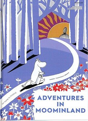 """The Moomins - Acticle Called """"Adventures In Moominland"""" in Stylist Magazine"""