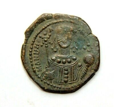 Unresearched Ancient Byzantine Bronze Coin Reasonable Price Byzantine (300-1400 Ad)