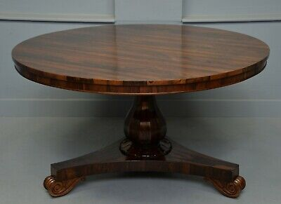 William IV Rosewood Breakfast Dining Table