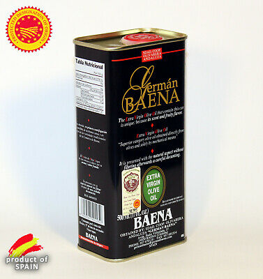 Huile D'olive Vierge Extra - Espagne - 500 Ml - Pression À Froid