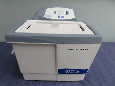 Fisher Scientific 5.7L Ultrasonic Cleaner degasser EXCELLENT and GUARANTEED