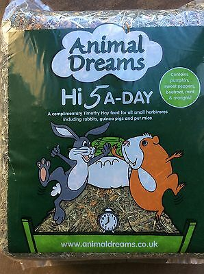 Hi 5-A Day Timothy Hay With Added Herbs X 5 Packs
