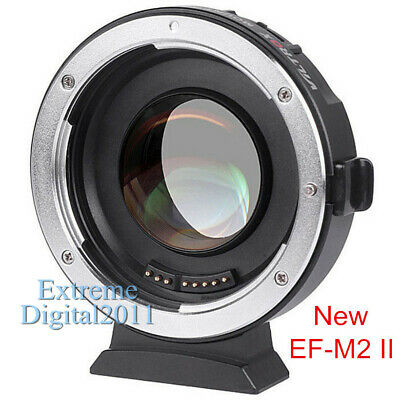 Viltrox EF-M2 II AF Adapter 0.71x Speed Booster For Canon EOS EF Lens to M43 MFT