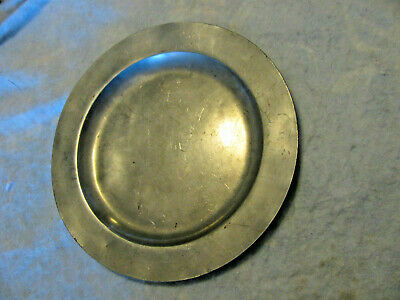 Antique soft pewter dish by Kamphof Zwolle