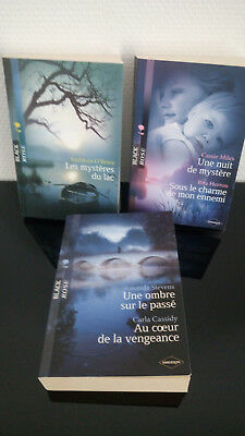 lot livres collection Black Rose Editions Harlequin