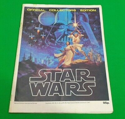 Star Wars ***MARVEL 1978 OFFICIAL COLLECTOR'S EDITION!!*** Weekly Monthly