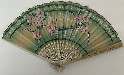 Antique Fan Paper Advertising  Great Eastern Hotel compliments