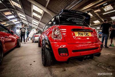 Mini R56, will also fit (R57, R58 R59) Models 25mm & 35mm fender flares.
