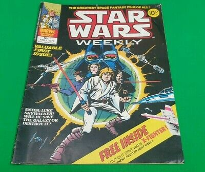 Star Wars Weekly ***ISSUE #1!!*** Marvel UK 1978 Comic Space Fantasy #2