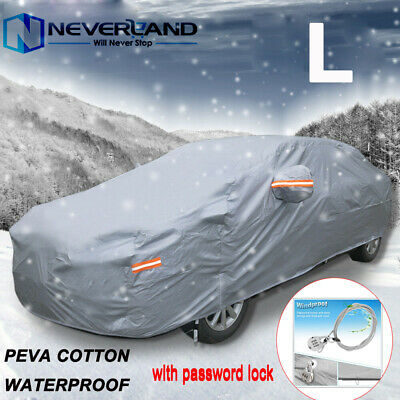 Large Full Car Cover Waterproof Rain UV Resistant Dust Protection For Ford Focus