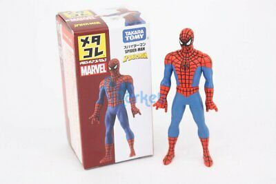 Takara Tomy Tomica Marvel Metacolle Mini Action Figure Collection Spider Man