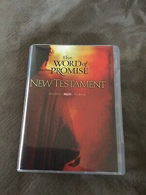 THE WORD OF Promise New Testament NKJV Audio Bible 20 CD Set