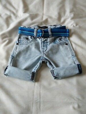 boys stretch denim shorts age 2-3 by Rocha John Rocha