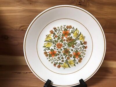"Corelle by Corning ""Indian Summer"" set of 2 salad plates pre-owned"