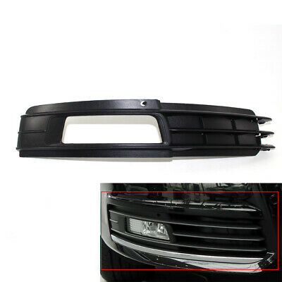 Fit For AUDI A6 C6 4F 09-11 Front Bumper Fog Light Grill Right 4-Door Durable