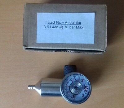 SGI Fixed Flow Gas Regulator  0.5 LMn @ 70 bar