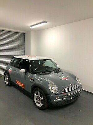 Bmw Mini Cooper Wrapped Audi Nardo Grey With Racetrack Car Livery