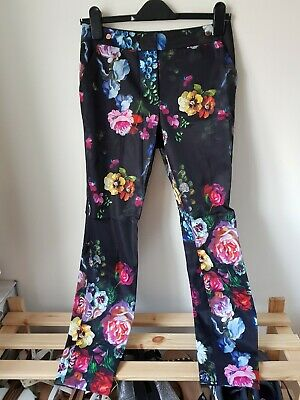 6c611e9ce3c5 Ted Baker Womens Oil Painting Trousers Size 1 (UK8-10)