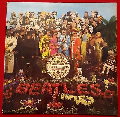 Sgt Pepper's Lonely Hearts Club Band - Original Mono Lp 1967, Gatefold Sleeve