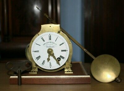 Fusee Clock (The Gas Meter Company, Oldham)